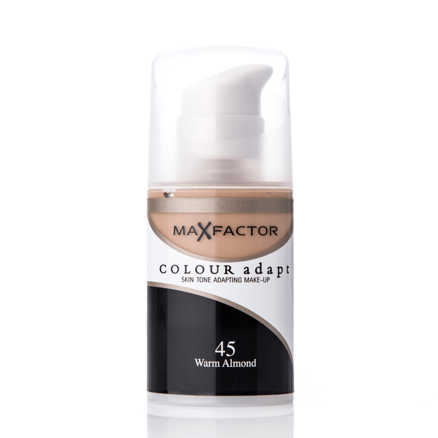 Max Factor Colour Adapt Foundation 34 ml – 45 Warm Almond
