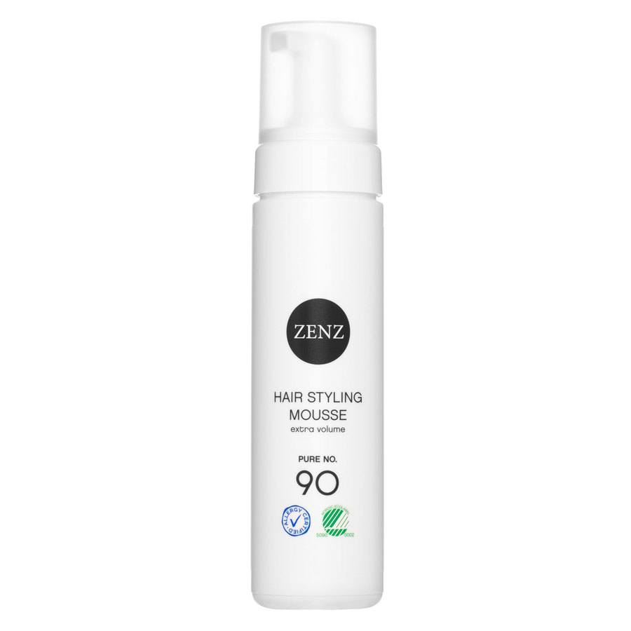 Zenz Organic 90 Pure Hair Styling Mousse Extra Volume 200 ml