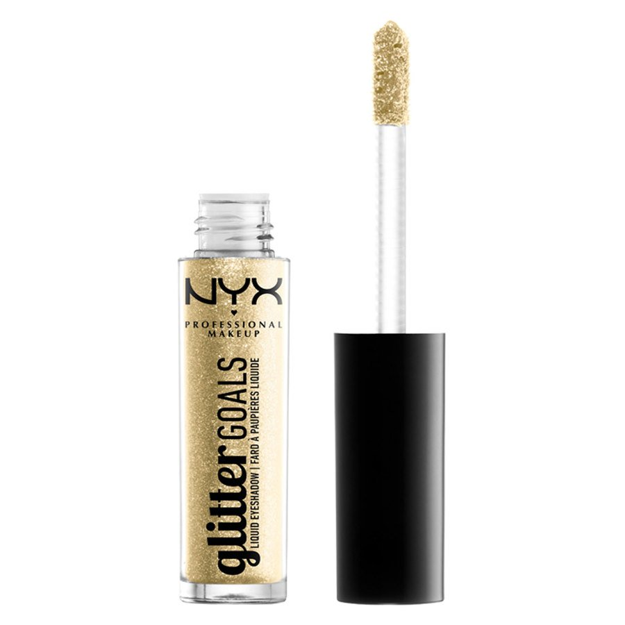 NYX Professional Makeup Glitter Goals Liquid Eyeshadow Industrial Beam 3,5g