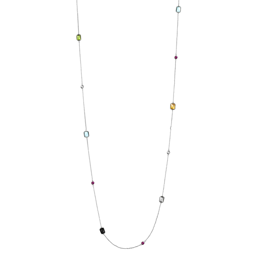 Snö Of Sweden Twice Chain Necklace – Silver/Mix
