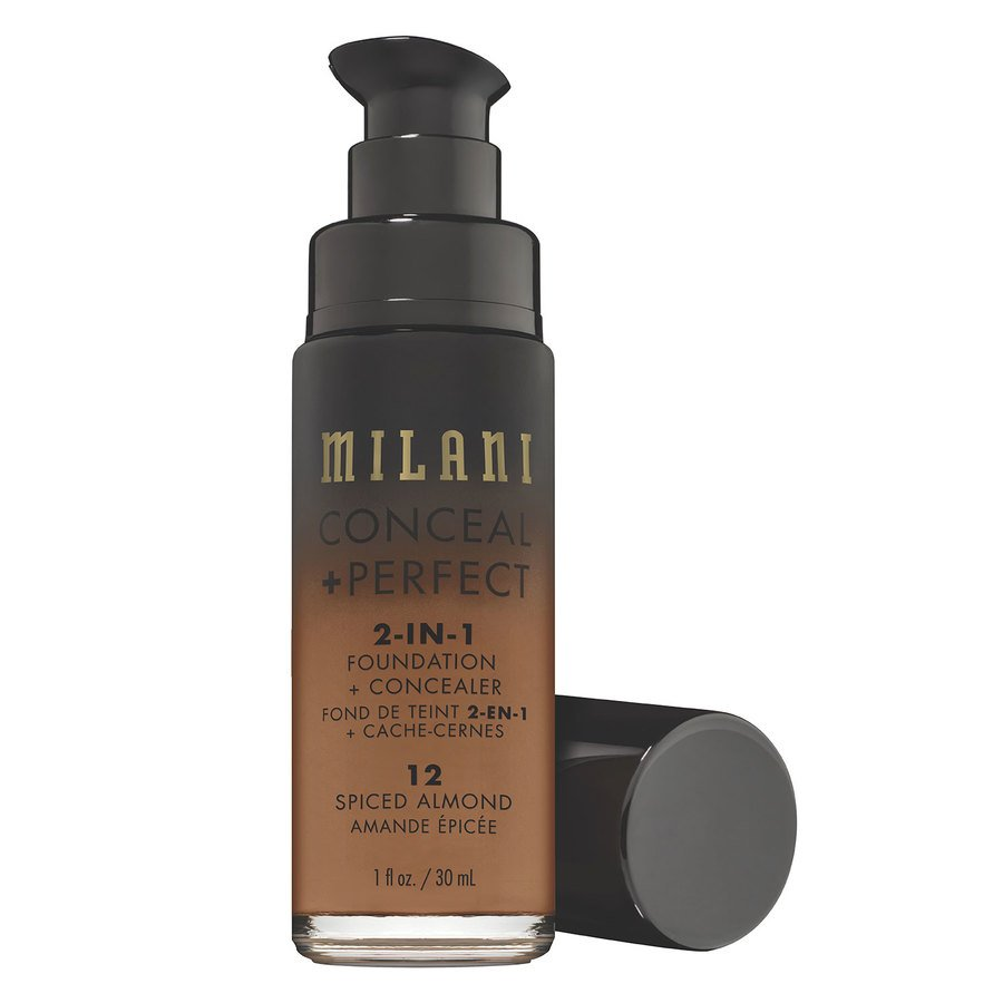 Milani Conceal + Perfect 2-In-1 Foundation + Concealer 30ml – 12 Spiced Almond