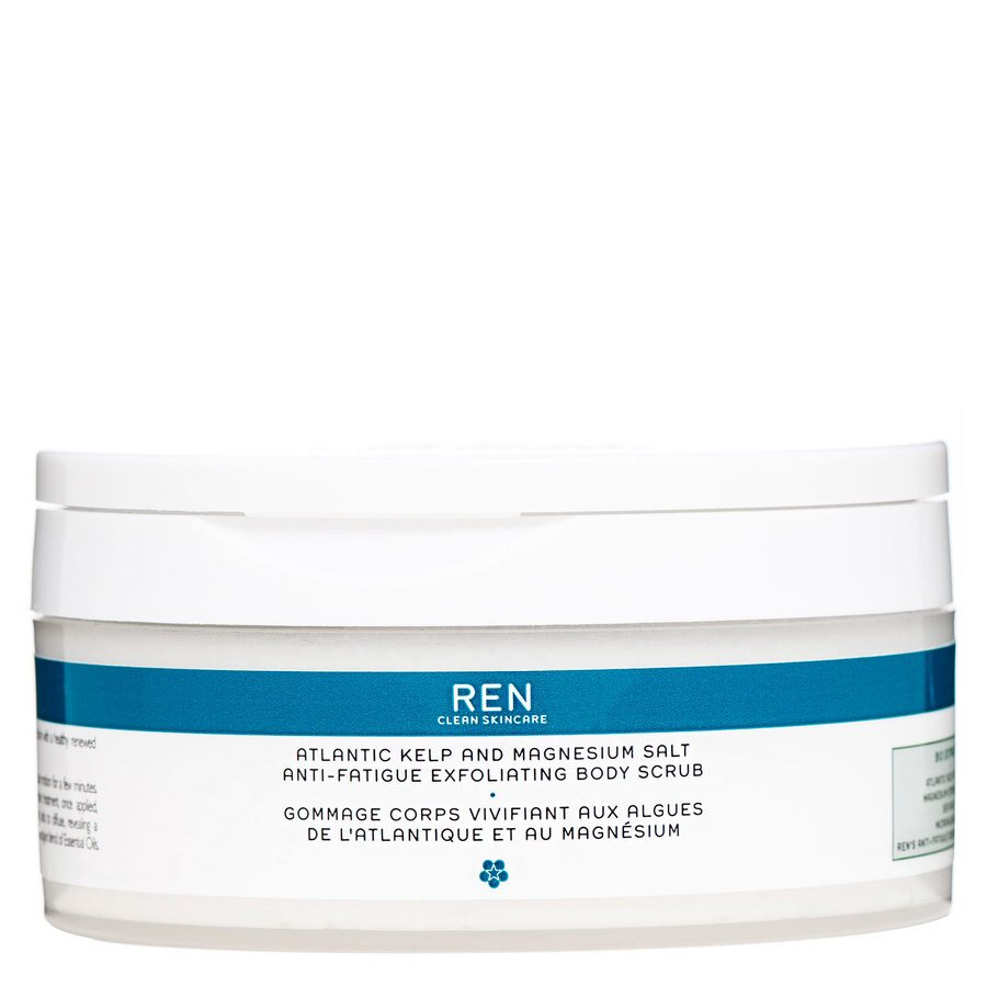 REN Atlantic Kelp And Magnesium Anti-Fatigue Body Scrub 150 ml