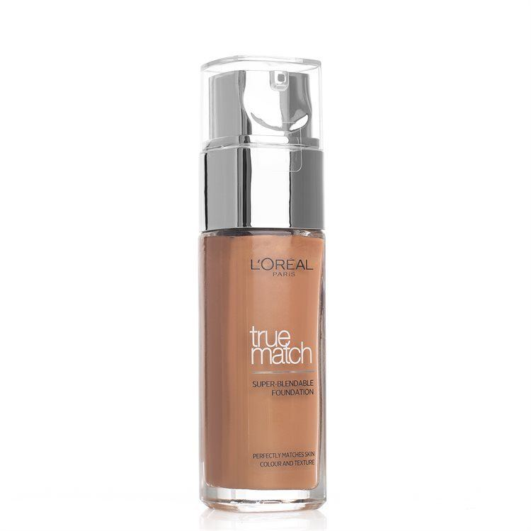 L'Oréal Paris True Match Liquid Foundation – W8 Amber 30ml