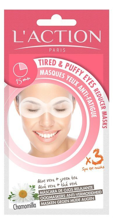 L'Action Paris Tired And Puffy Eyes Reducer Masks 8 g