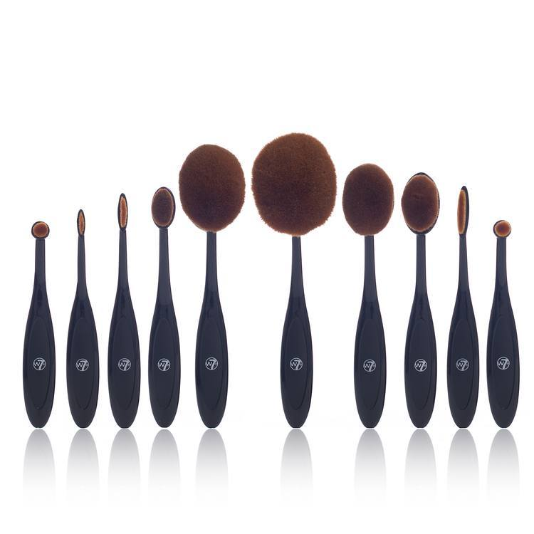 W7 Professional Soft Brush Collection 10kpl