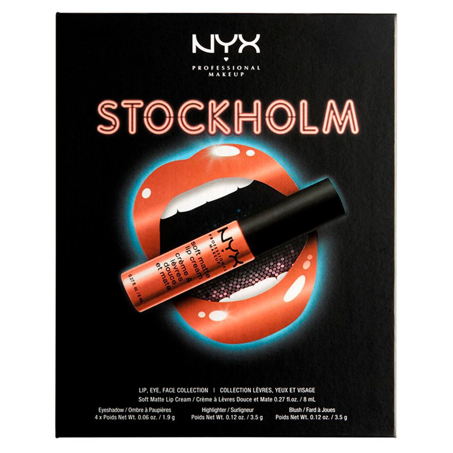 NYX Professional Makeup City Set Lip, Eye & Face Collection – Stockholm