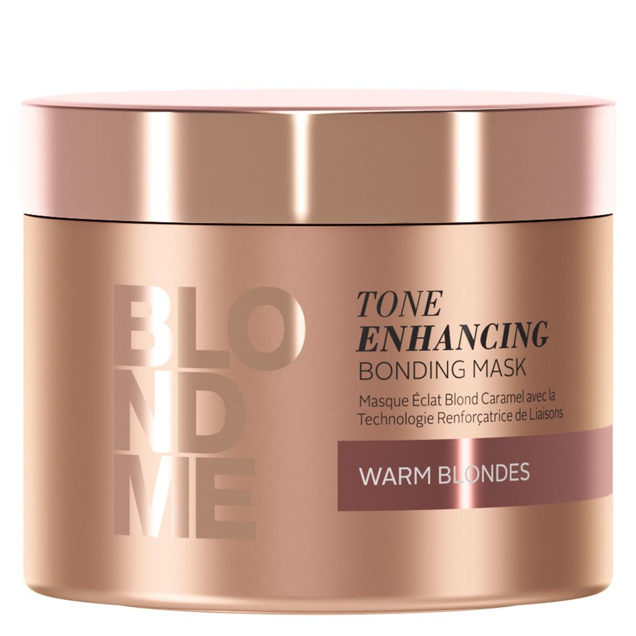 Schwarzkopf Blondme Tone Enhancing Bonding Mask Warm Blond 200 ml