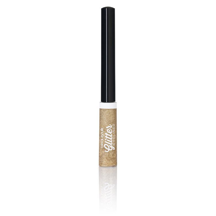 Beauty UK Glitter Liquid Eyeliner no. 2 Gold
