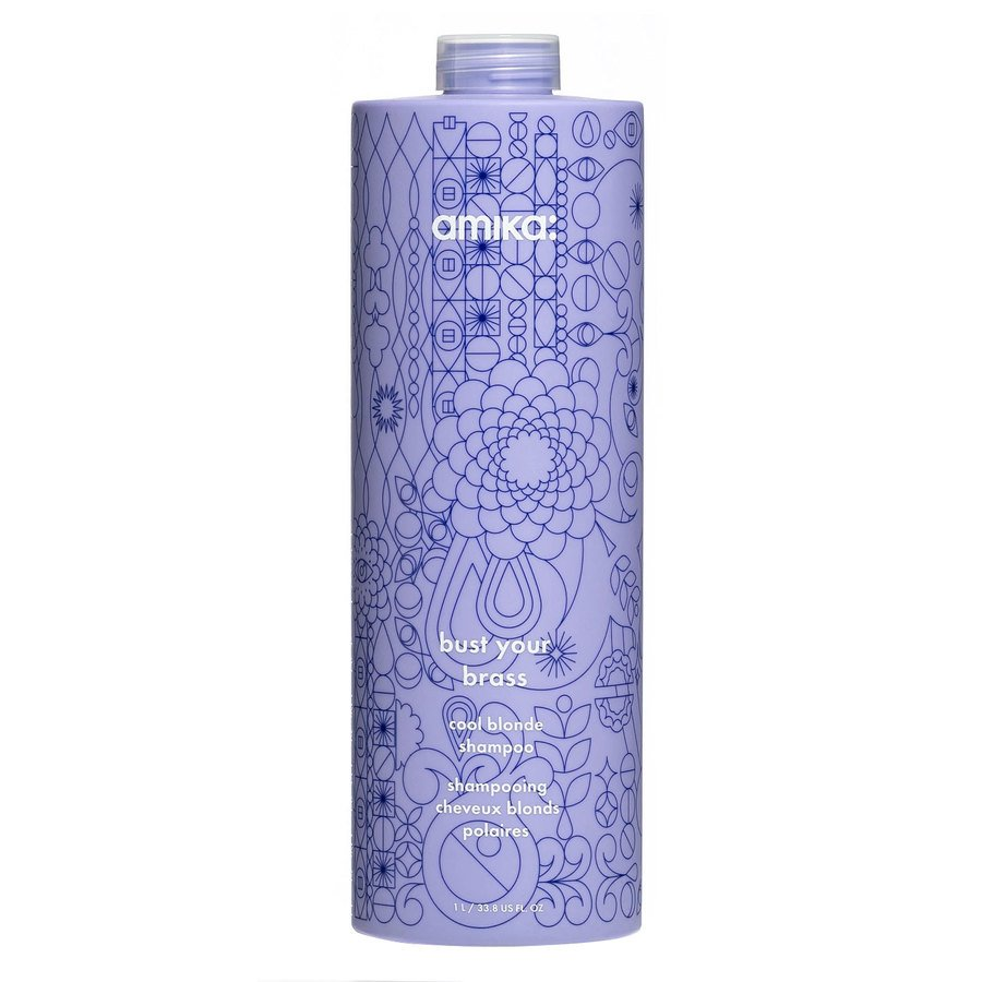 Amika Bust Your Brass Cool Blonde Shampoo 1 000 ml