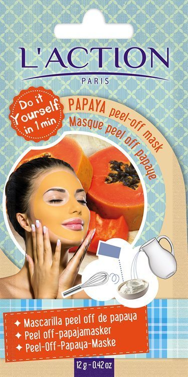 L'Action Paris Papaya Peel-Off Mask 12 g