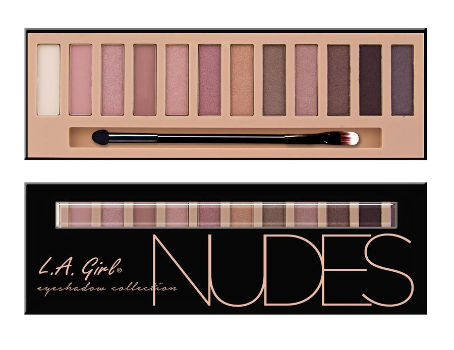 L.A. Girl Cosmetics Beauty Brick Eyeshadow Collection - Nudes GES331