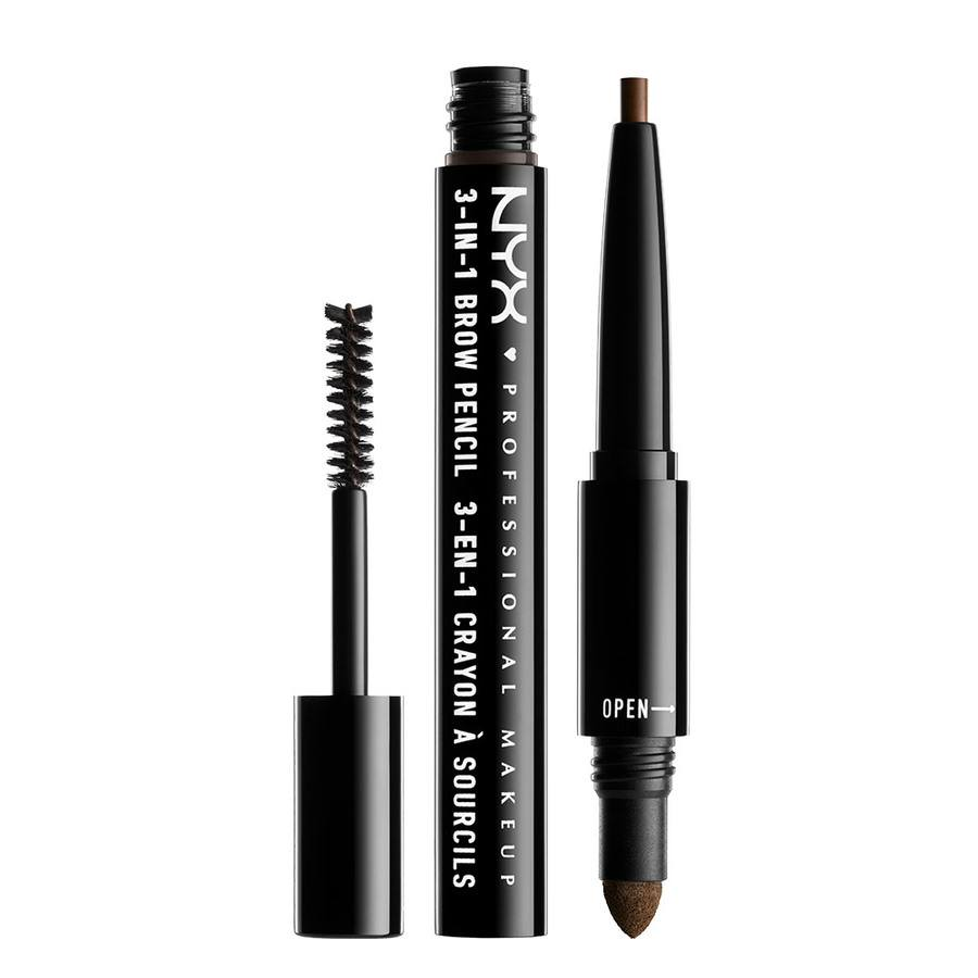 NYX Professional Makeup 3-In-1 Brow – Espresso 31B07