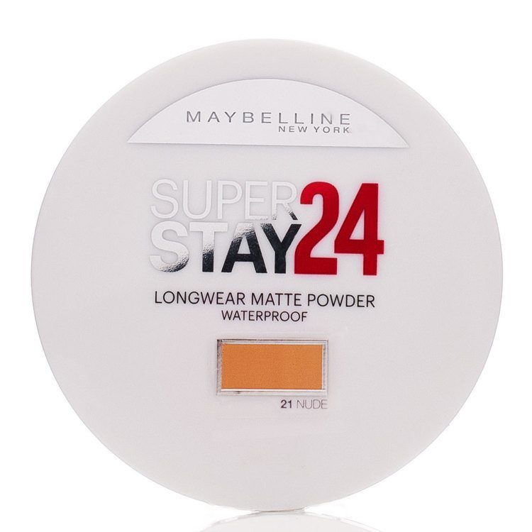 Maybelline Superstay 24h Longwear Matte Powder Waterproof – Nude 021