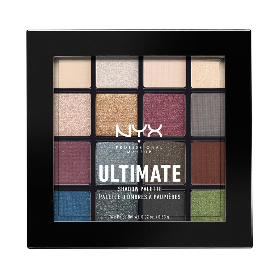 NYX Professional Makeup Ultimate Eyeshadow Palette – Smokey & Highlight USP01 13,3g