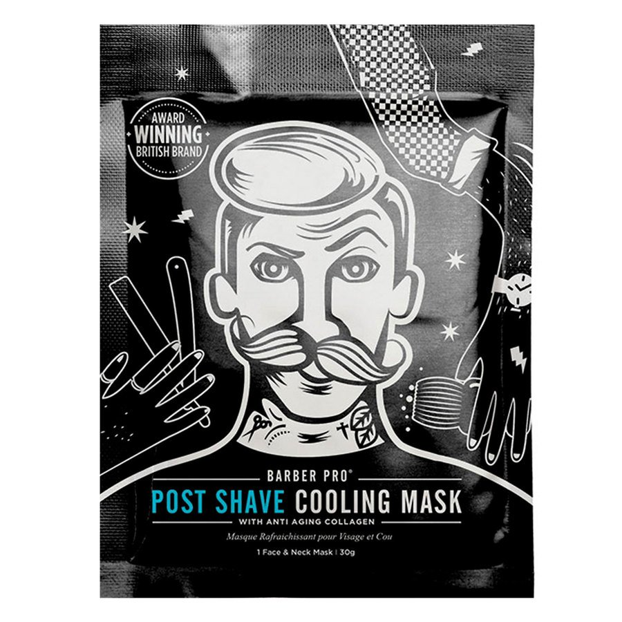 Barber Pro Post Shave Cooling Mask 30 g