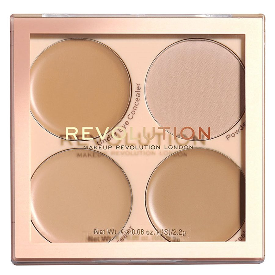 Makeup Revolution Matte Base Concealer Kit - C5-C8