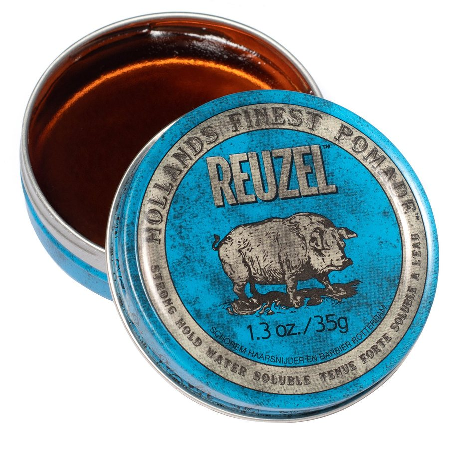 Reuzel Blue Strong Hold High Sheen Pomade 35 g