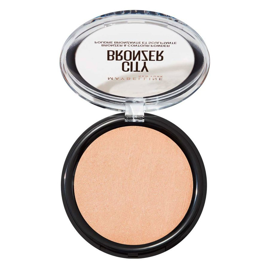 Maybelline City Bronze Powder 8 g - Light Warm