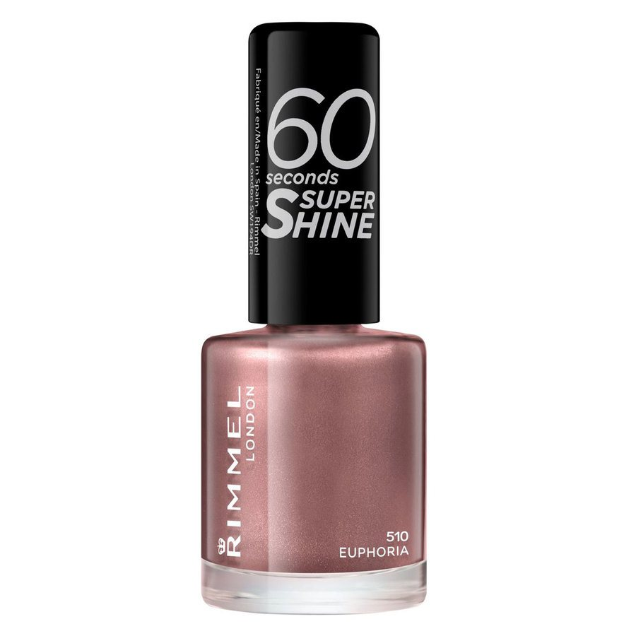Rimmel London 60 Seconds Super Shine Nail Polish 8 ml ─ #510 Euphoria