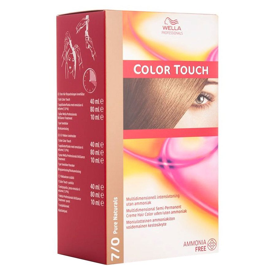 Wella Professionals Color Touch 130 ml – 7/0 Pure Naturals