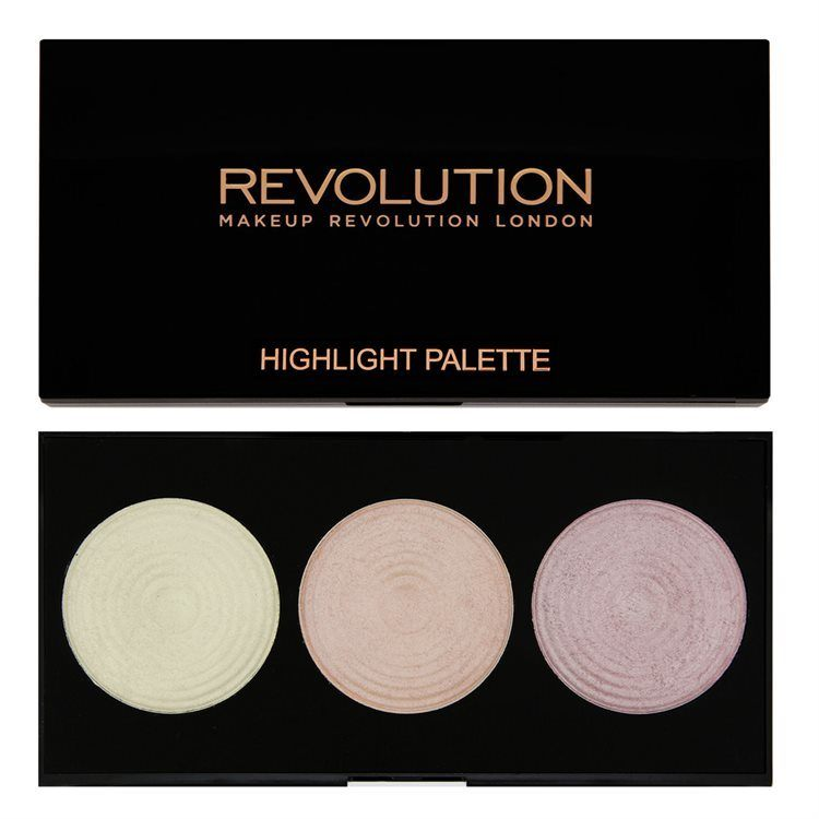 Makeup Revolution Highlighter Palette 15 g Highlight
