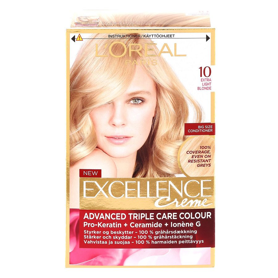 L'Oréal Paris Excellence Creme - 10 Extra Light Blonde