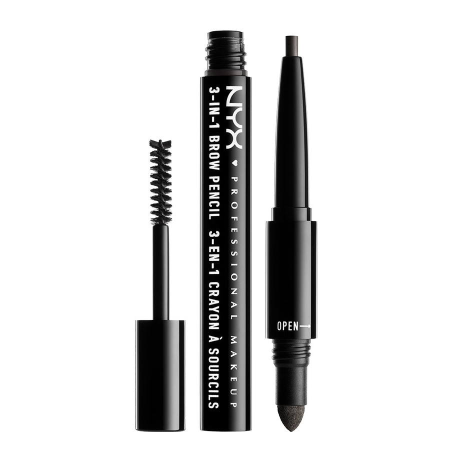 NYX Prof. Makeup 3-In-1 Brow – Charcoal 31B09