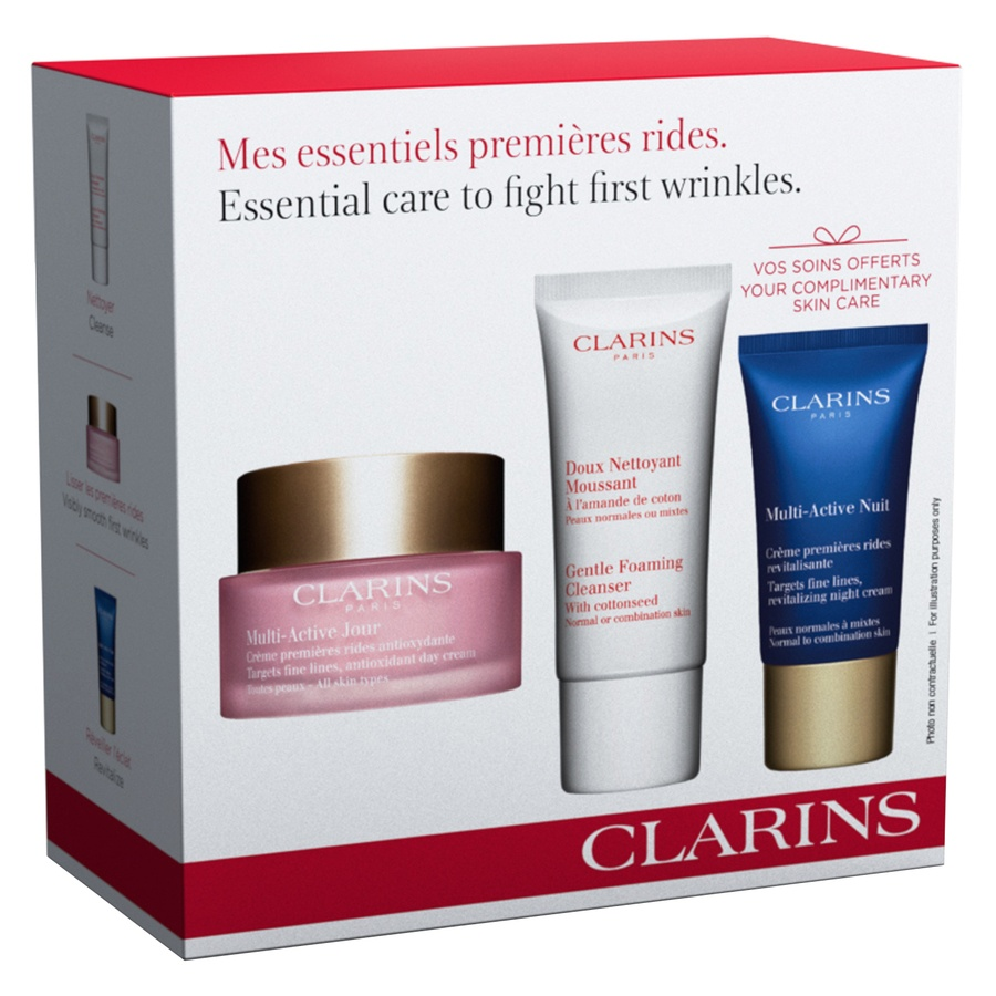 Clarins Multi-Active Face Care Set
