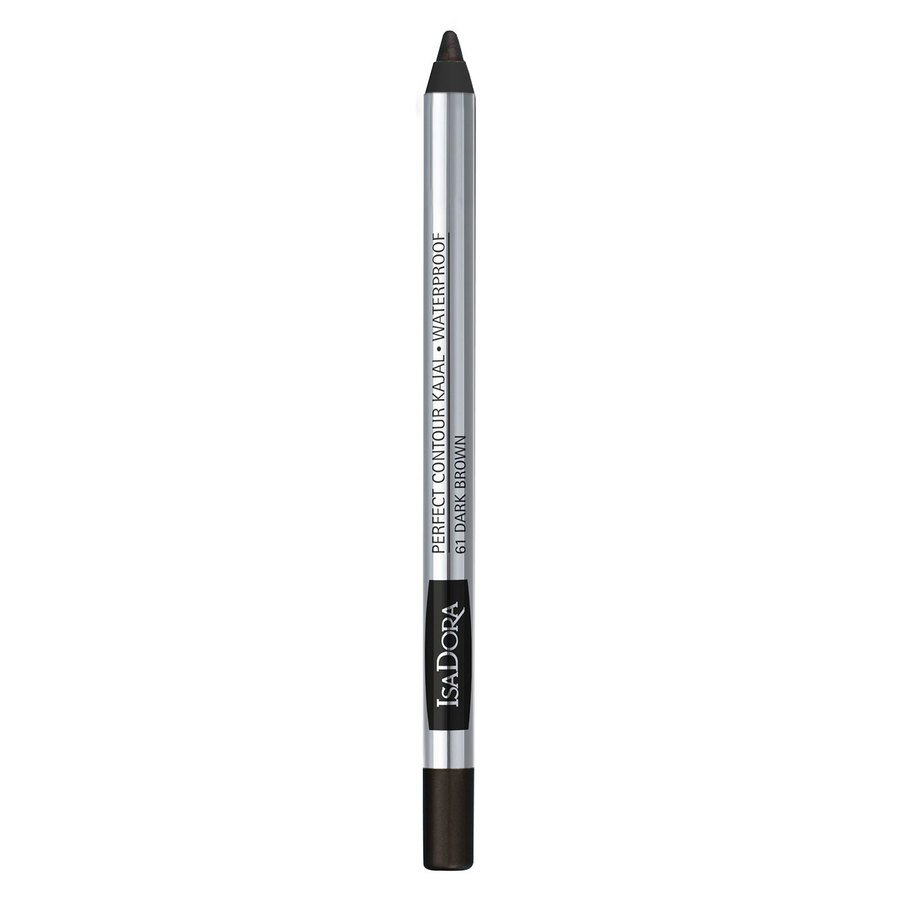 IsaDora Perfect Contour Kajal Waterproof 1,3 g ─ #61 Dark Brown