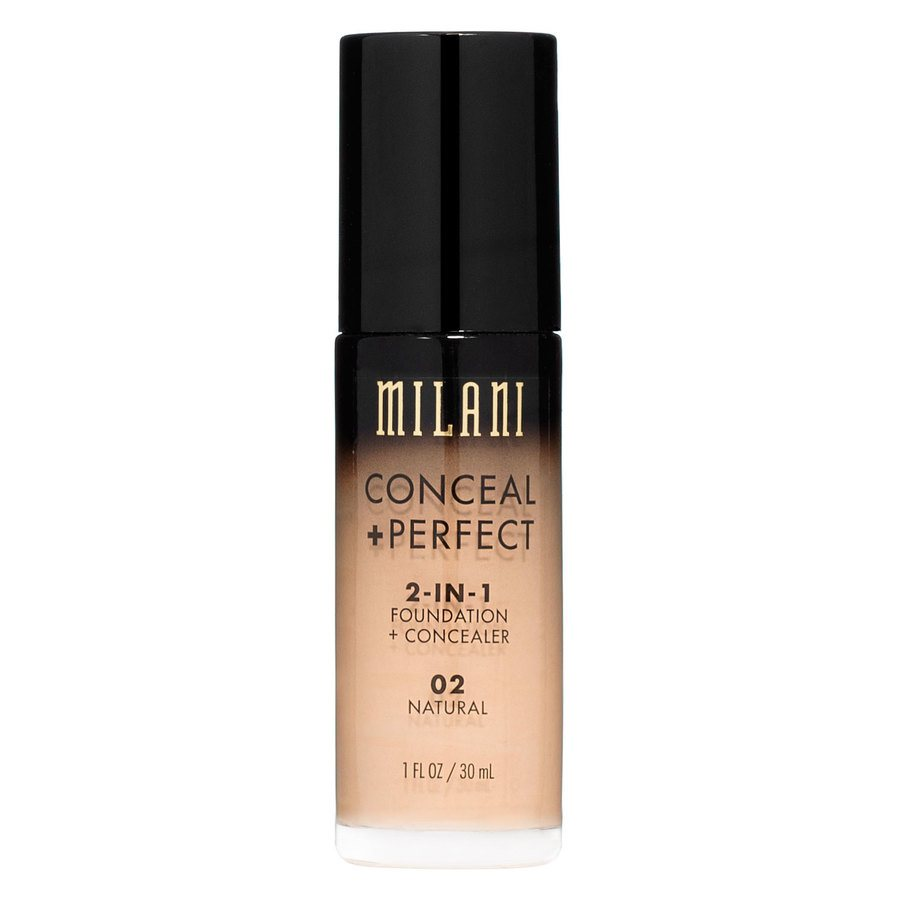 Milani Conceal + Perfect 2-In-1 Foundation + Concealer 30ml – Natural