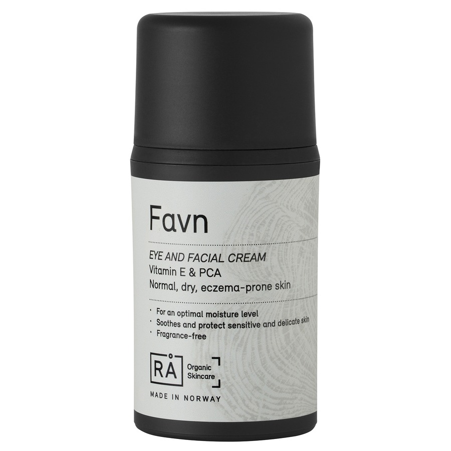 RÅ Organic Skincare Favn Eye And Facial Cream 50 ml