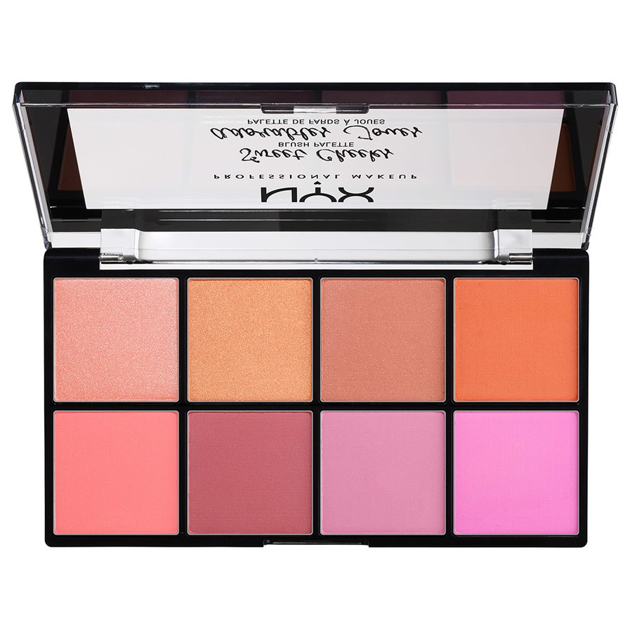 NYX Professional Makeup Sweet Cheeks Blush Palette (8x 3,5g)
