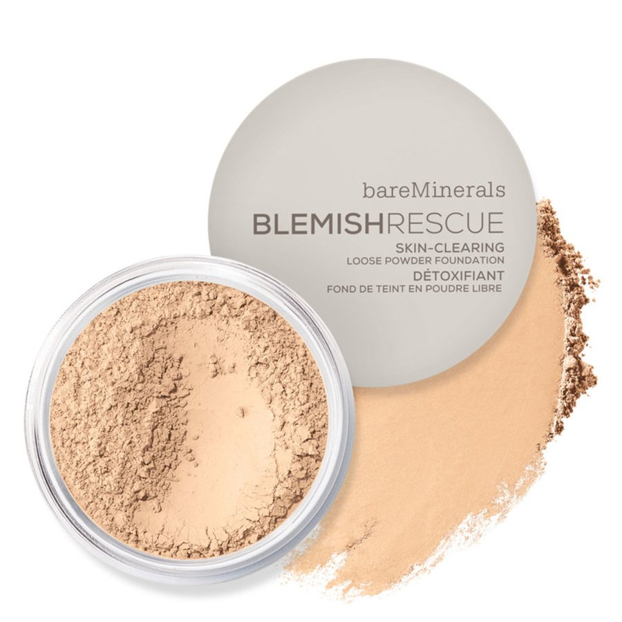 bareMinerals Blemish Rescue Skin Clearing Loose Powder Foundation Fairly Light 1NW 6g
