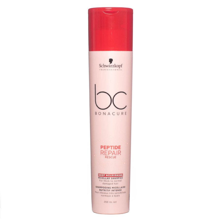 Schwarzkopf BC Peptide Repair Rescue Shampoo Deep Nourishing 250 ml