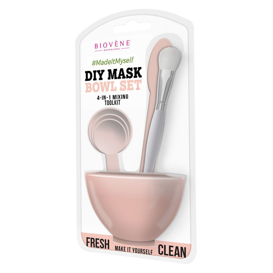 Biovène DIY Mask Bowl Set 4-in-1 – Pink