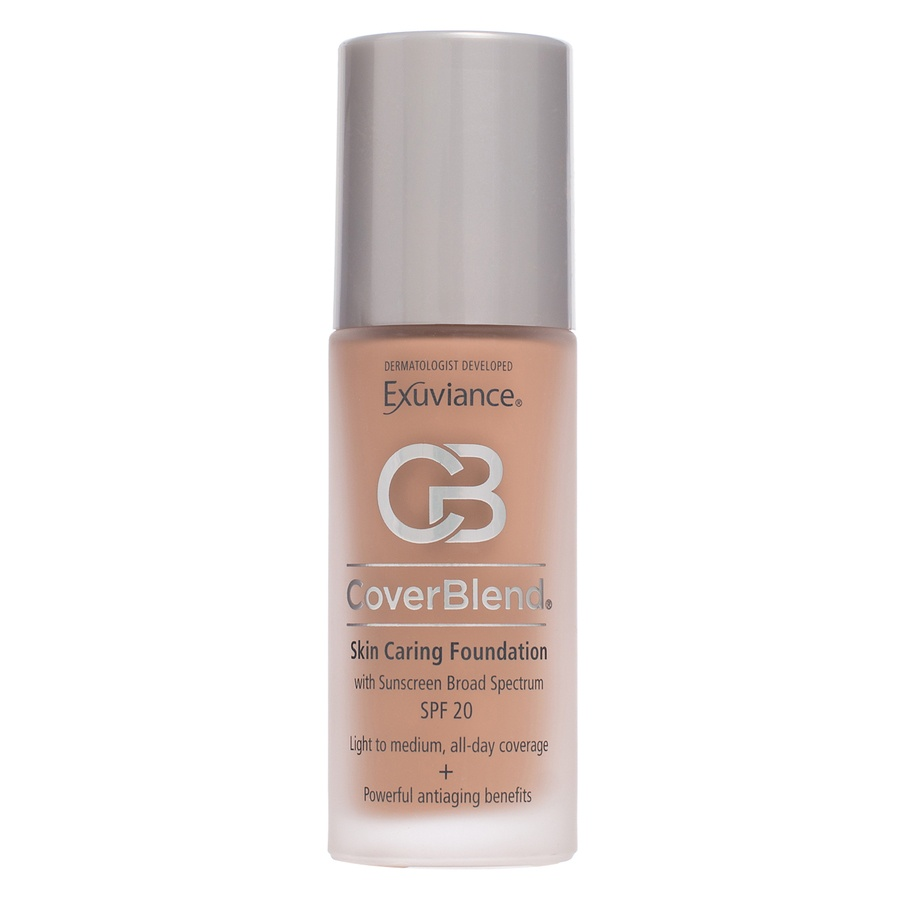 Exuviance CoverBlend Skin Caring Foundation SPF 20 – Honey Sand  30ml
