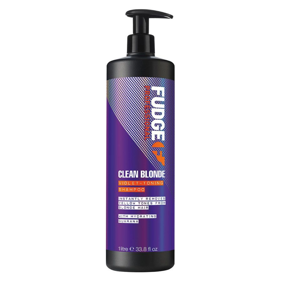 Fudge Clean Blonde Violet Toning Shampoo 1 000 ml