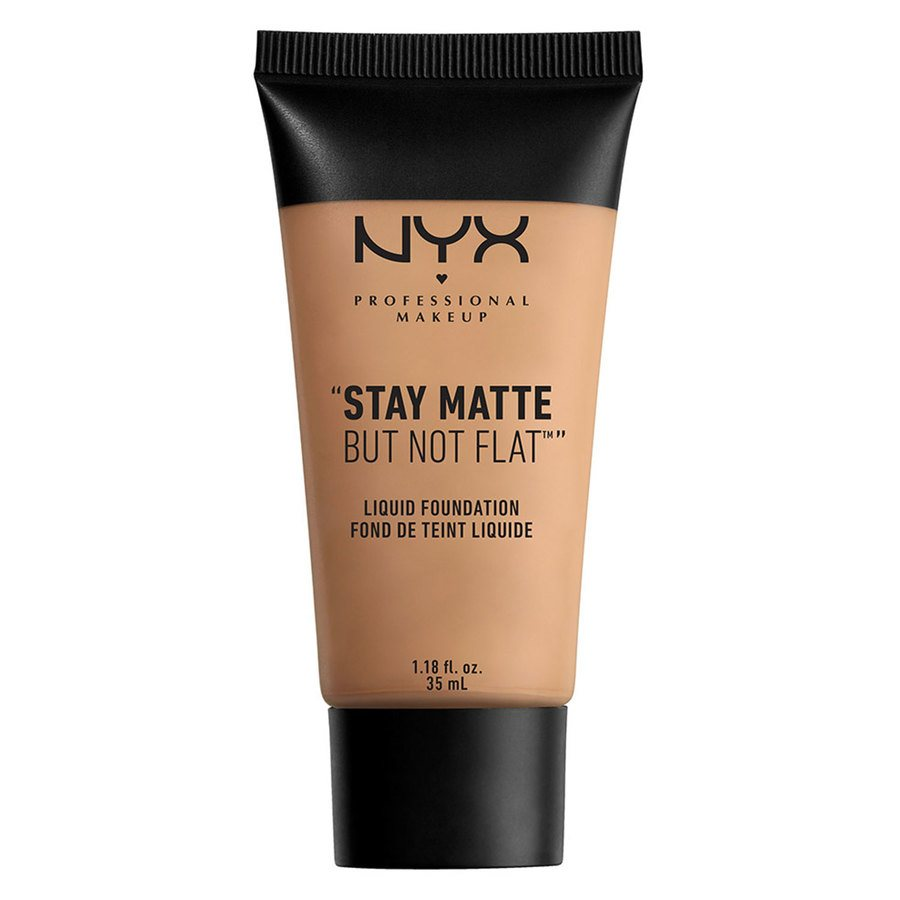 NYX Professional Makeup Stay Matte But Not Flat Liquid Foundation 35 ml - Tan