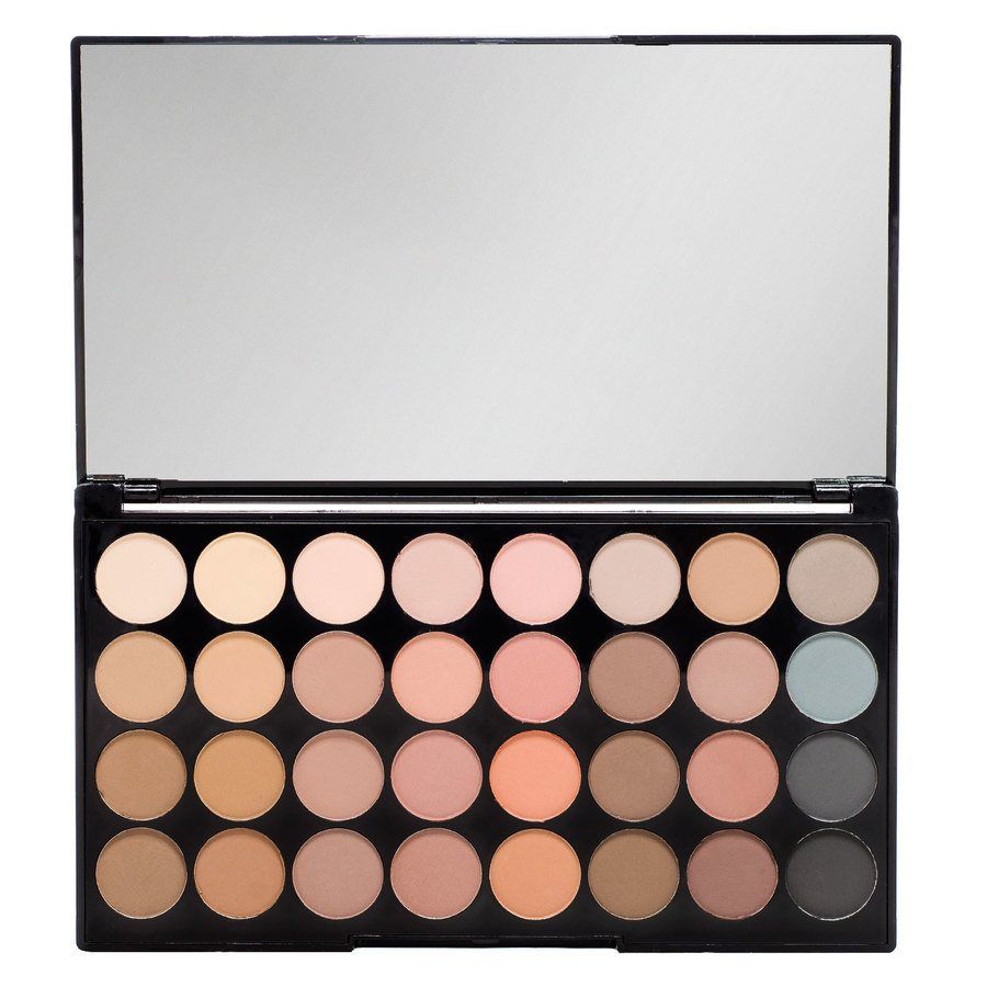 Makeup Revolution Ultra 32 Shade Eyeshadow Palette 16 g Flawless Matte