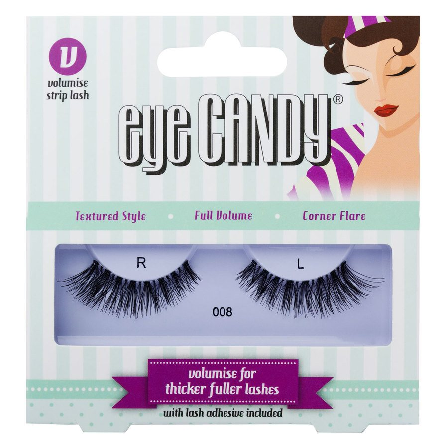 Eye Candy Volumise Strip Lash 008