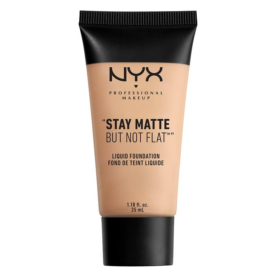 NYX Professional Makeup Stay Matte But Not Flat Liquid Foundation - Creamy Natural SMF04 35ml