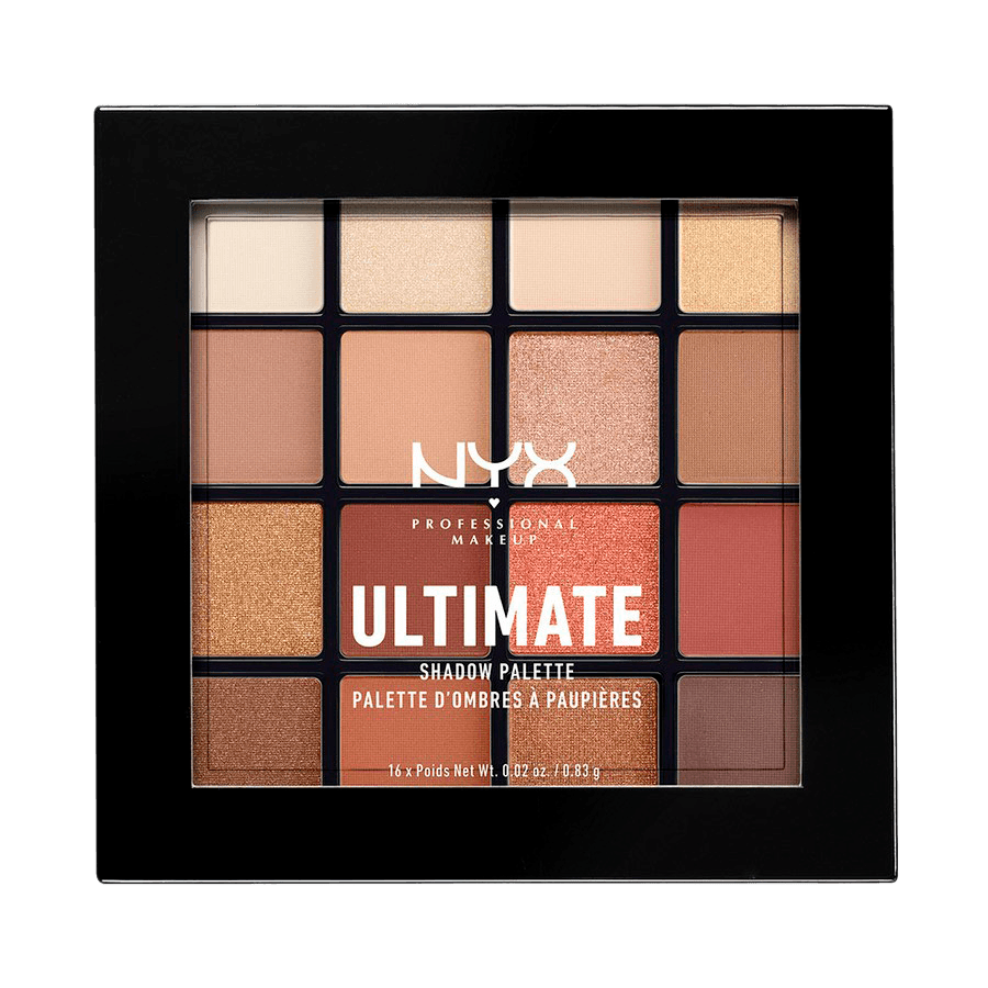 NYX Professional Makeup Ultimate Eyeshadow Palette – Warm Neutrals USP03 13,3g