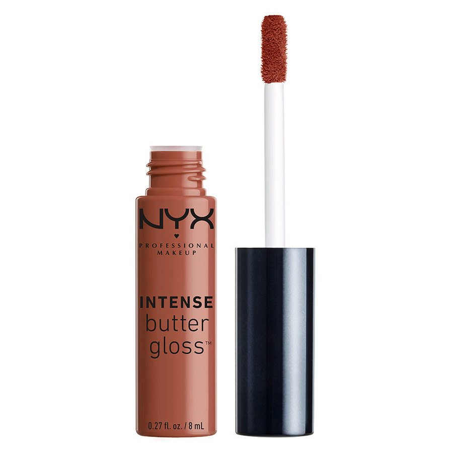NYX Professional Makeup Intense Butter Gloss 8 ml – Chocolate Crepe