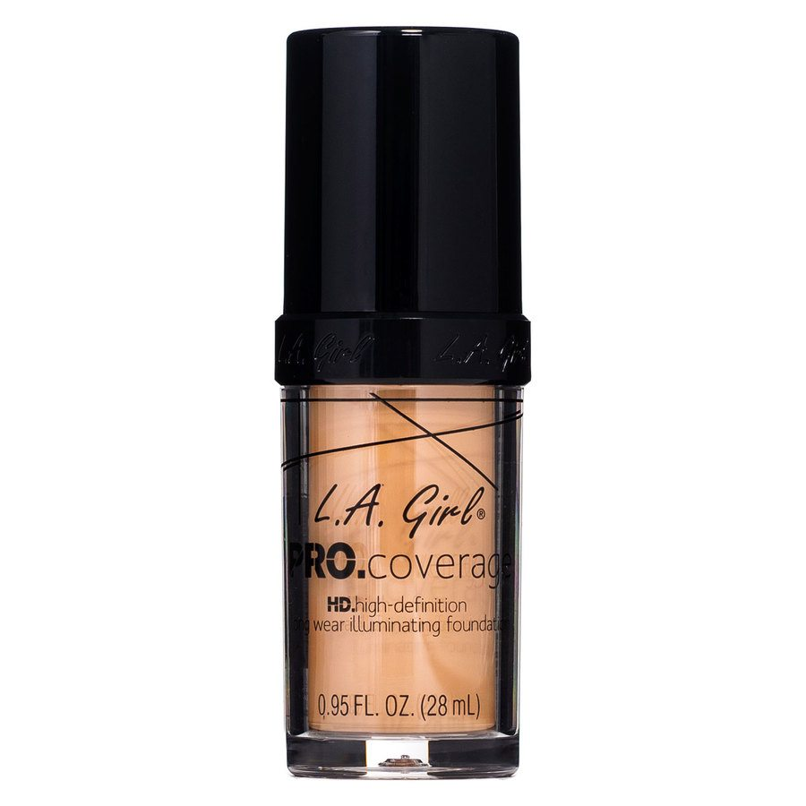 L.A. Girl Pro Coverage Illuminating Foundation – GLM647 Warm Beige