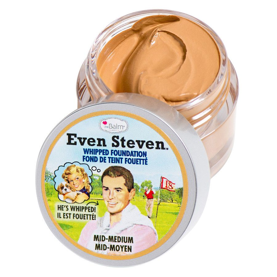 The Balm Even Steven Whipped Foundation 13,4 ml – Mid-Medium