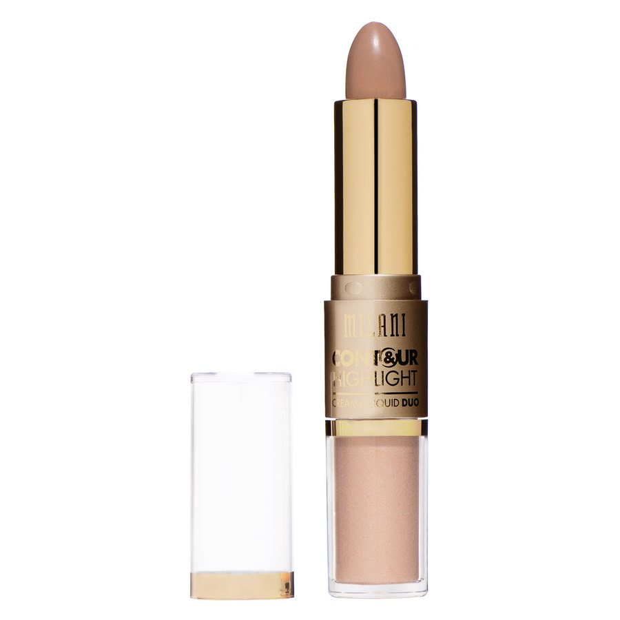 Milani Contour And Highlight Cream And Liquid Duo – Light/Natural