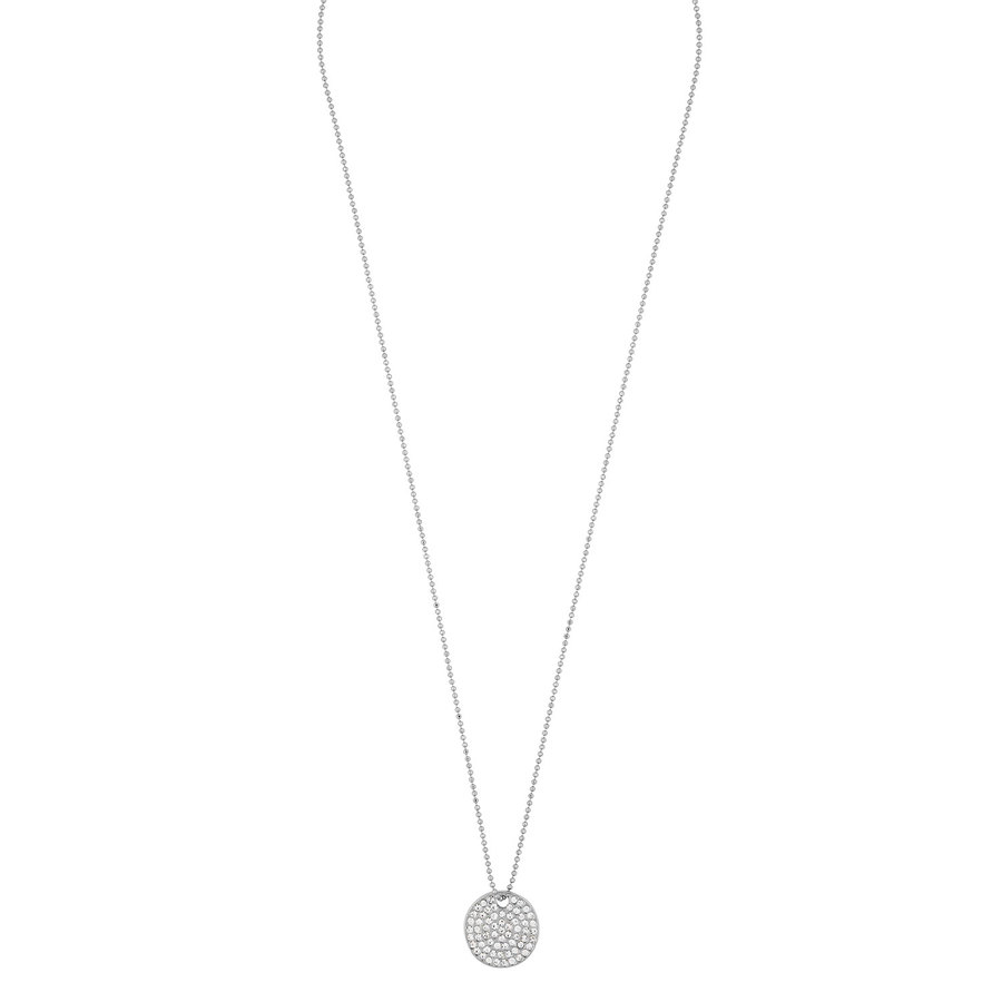 Snö of Sweden Corinne Pendant Necklace 42 cm - Silver/Clear