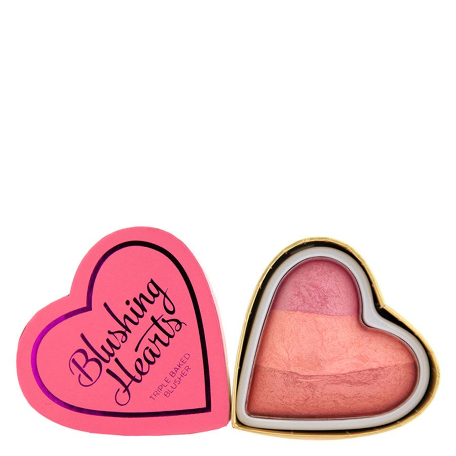 Makeup Revolution I Heart Makeup Blushing Hearts Blusher – Candy Queen of Hearts