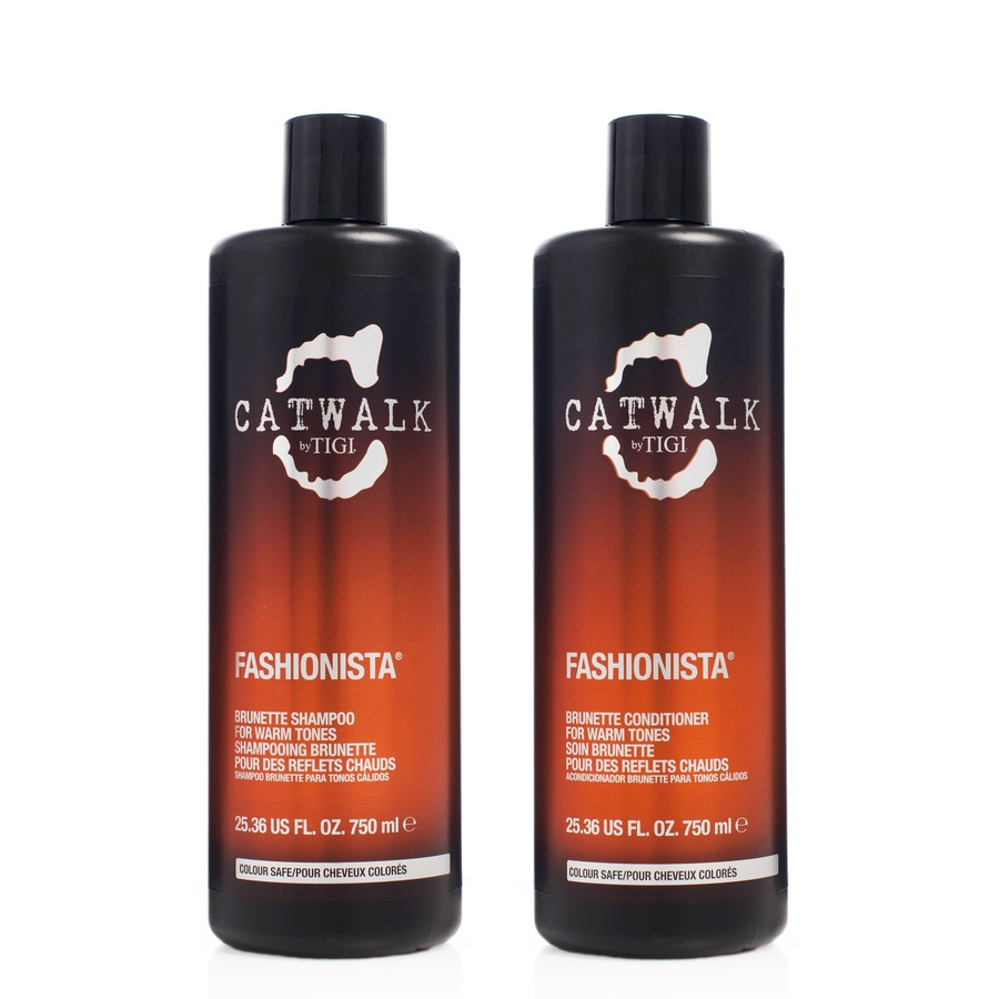 TIGI Catwalk Fashionista Brunette Shampoo & Conditioner Duo 2 x 750 ml