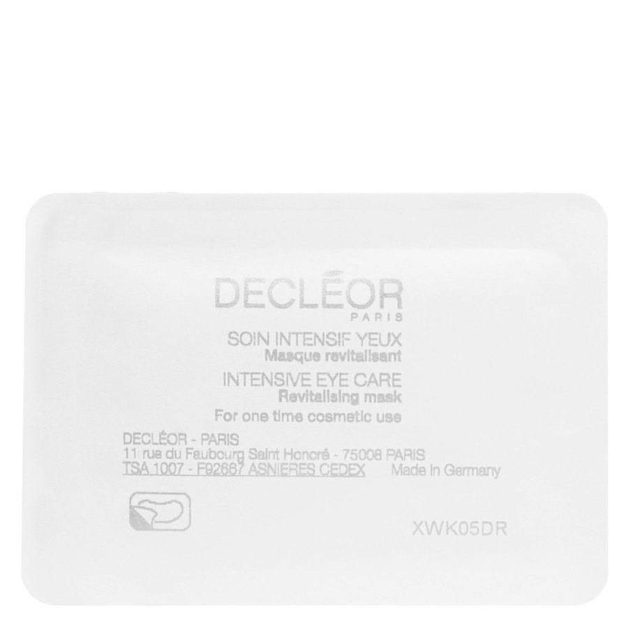 Decleor Intensive Eye Care Revitalising Mask 5x 2kpl